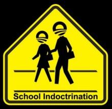 [school indoctrination ahead]
