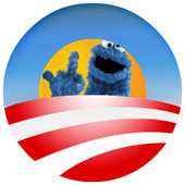 [Obama Cookie Monster]