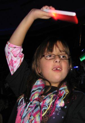 [Sophie at Miley Cyrus concert]