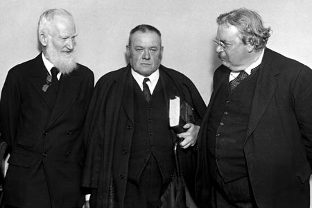 Shaw, Belloc, and Chesterton