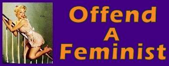 [offend a feminist week logo]