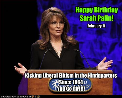 [Happy Birthday Sarah Palin]