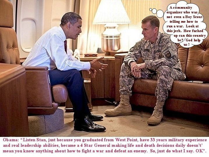 [Obama McChrystal chat]